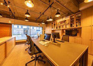 事務所(デスク、壁面収納、カウンター等)